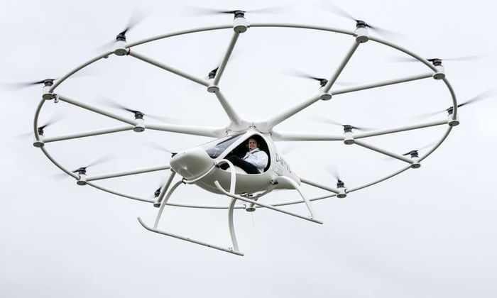 В Германии приступили к испытаниям пассажирского дрона