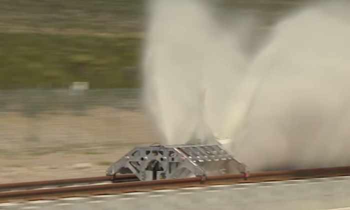 Видео: испытание сверхзвуковой транспортной системы Hyperloop Илона Маска