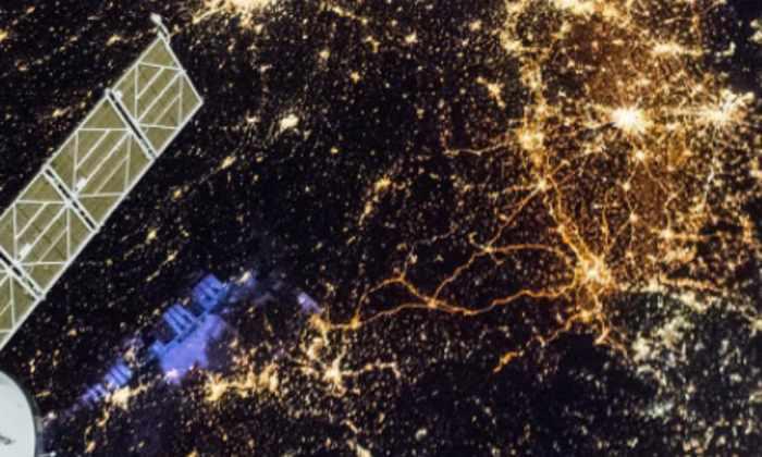NASA показало фотографию ночной Западной Европы из космоса
