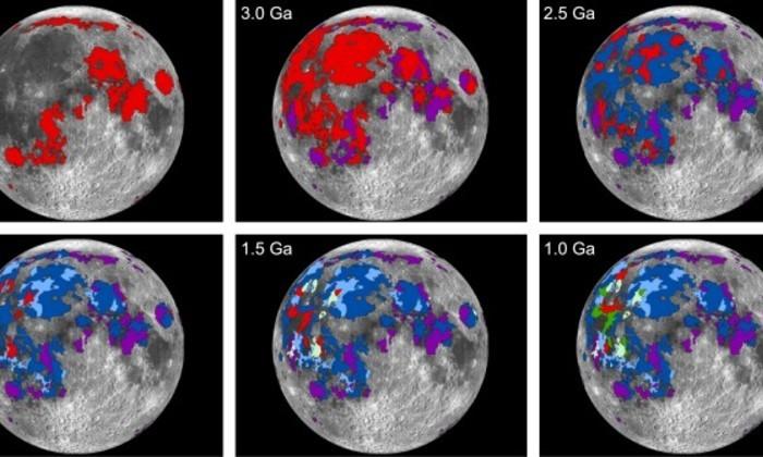 Вулканическая активность Луны