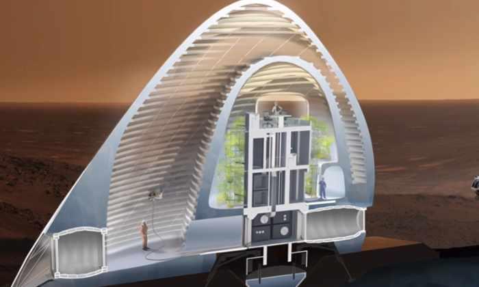 Видео: этот ледяной дом делает нас на шаг ближе к колонизации Марса