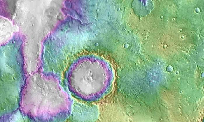 Озера наМарсе появились позже, чем считалось