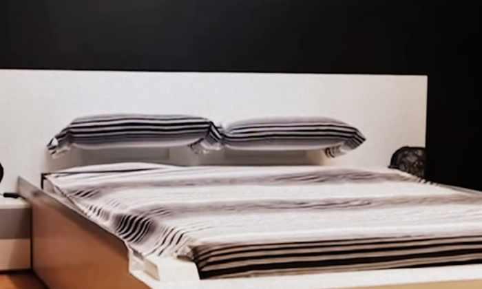 Видео: эта кровать уберет себя сама