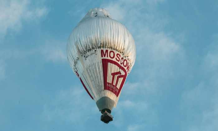 64-летний Федор Конюхов установил несколько мировых рекордов на воздушном шаре