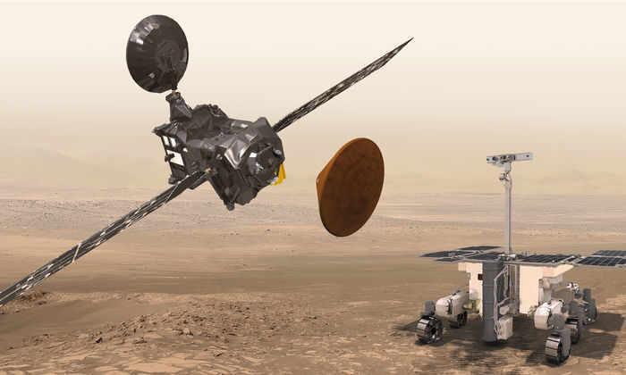 На космодроме Байконур собрали ракету для запуска миссии ЭкзоМарс-2016