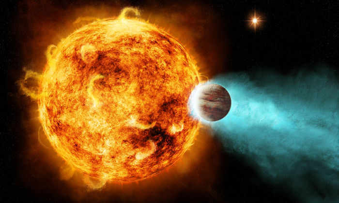 Вокруг массивных звезд нашли четыре гигантских экзопланеты