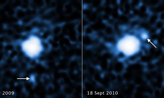 Фото дня. У карликовой планеты Солнечной системы обнаружен спутник