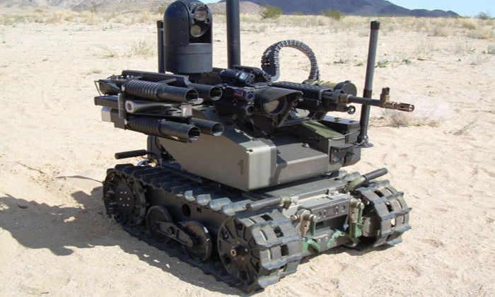 Морская пехота США испытала робота-убийцу