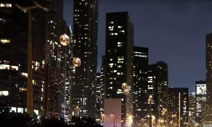 Видео: для передвижения по Чикаго протянут канатную дорогу длиной 2 км