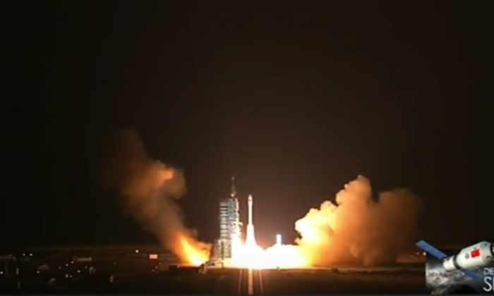 Китай совершил успешный запуск космической лаборатории Tiangong-2