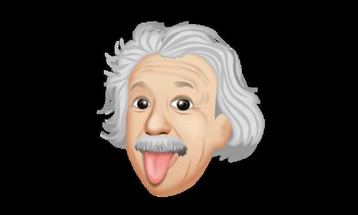 Эйнштейна превратили в смайлик для iOS и Android