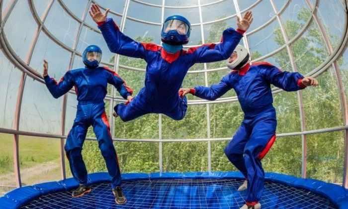 Групповой танец в аэротрубе следует включить в Олимпийские игры