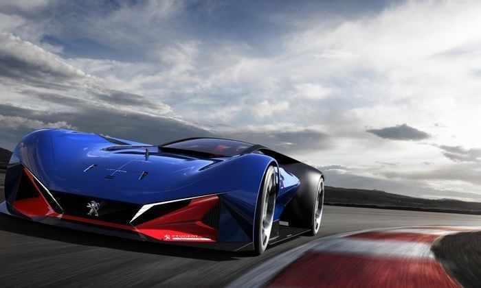 Peugeot выпустила гибридный гоночный автомобиль