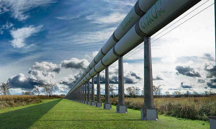 Транспорт будущего: как будет выглядеть карта гиперскоростной Hyperloop-сети
