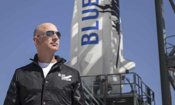 Blue Origin запустит человека в космос к 2017 году