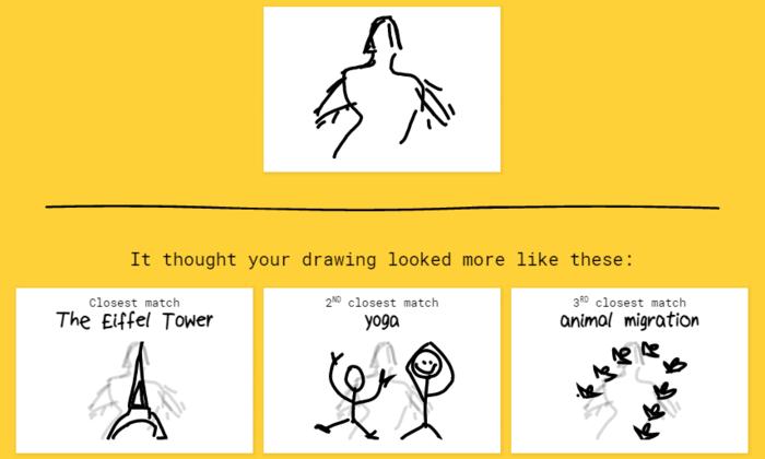Google выпустила игру в которой нейросеть угадывает рисунки пользователей