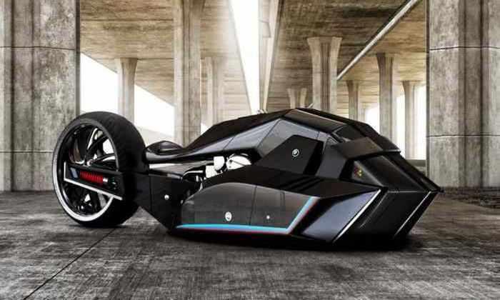 Разработана концепция супер скоростного мотоцикла от BMW