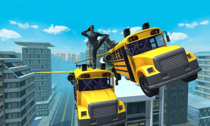 Китай тестирует футуристичный автобус, проходящий сквозь пробки