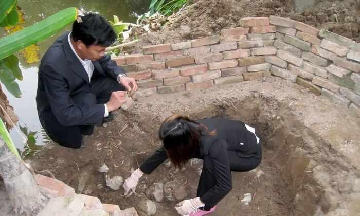 В Китае нашли древнюю гробницу с двумя уцелевшими фресками