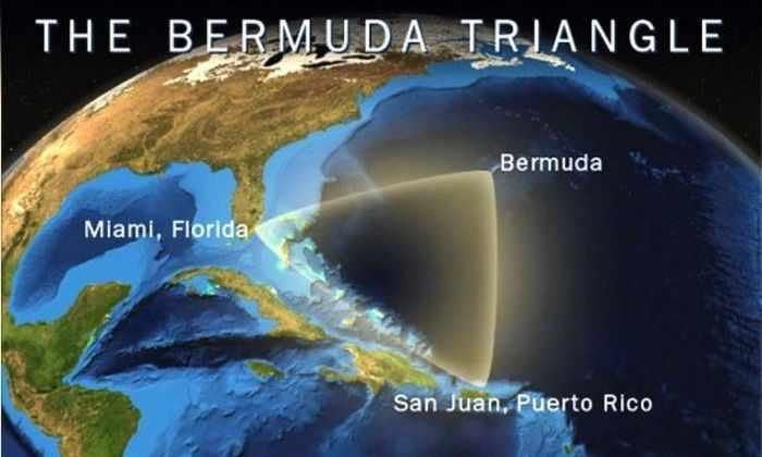 «Бермудский треугольник» может быть вызван океаническими кратерами