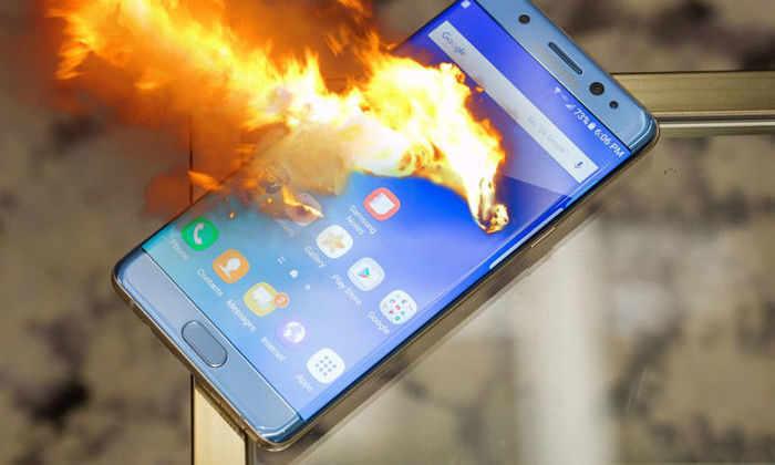 Galaxy Note 7 взрываются из-за производственного брака батареи