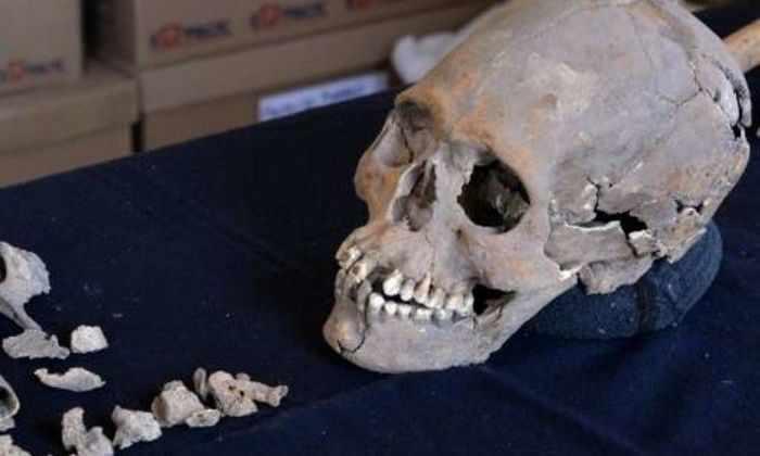 В Мексике обнаружен 1600-летний череп женщины с протезами зубов