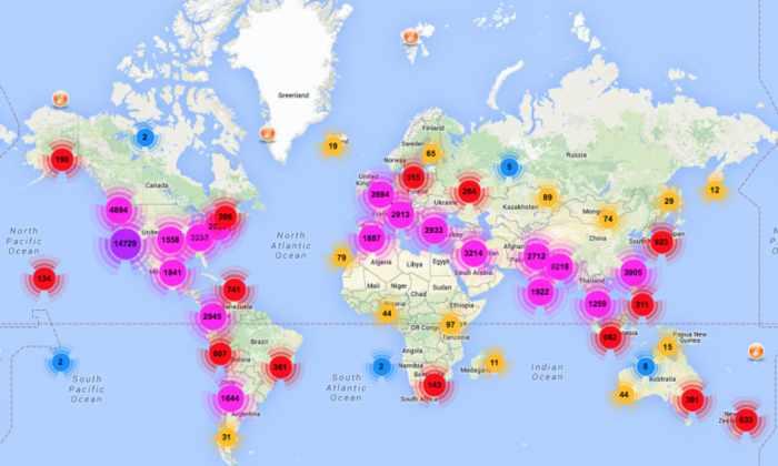 Мобильное приложение MyShake защитит японцев от землетрясений