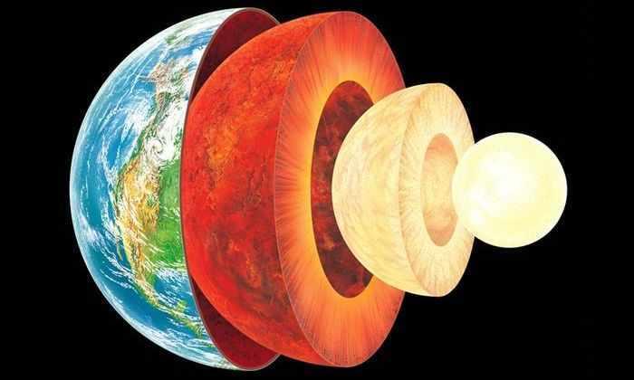 Ядро Земли на 2,5 года моложе коры