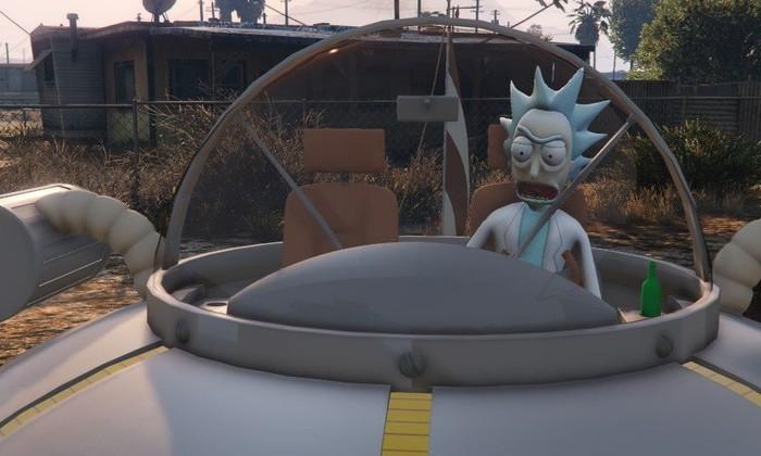Рик и Морти в GTA V