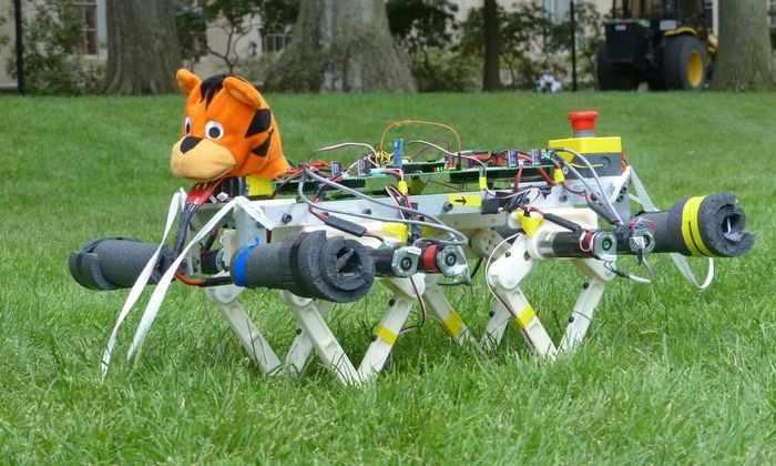 В MIT создали мини-робота по кличке Гепард с головой Тигры из Вини-Пуха