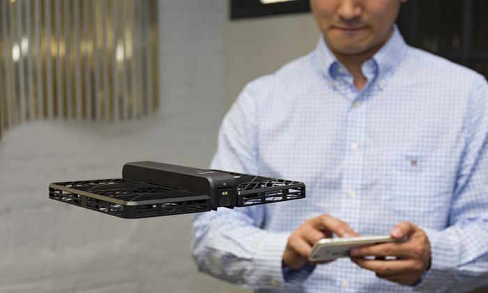 В Китае разработали самую безопасную дрон-камеру в мире