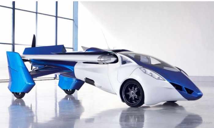 AeroMobil представил летающий автомобиль, который окажется в небе в 2017 году