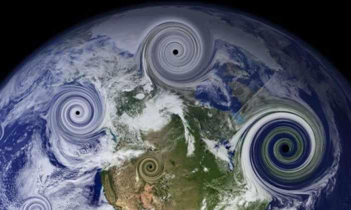 Бесчисленные крошечные черные дыры могут мчаться сквозь пространство, как космические пули