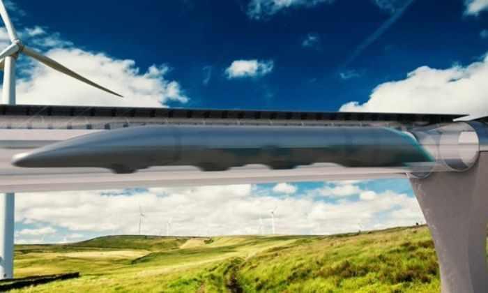 Hyperloop покроют материалом в 10 раз прочнее стали