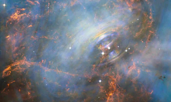 «Хаббл» сфотографировал сердцевину взорвавшейся звезды – Крабовидной туманности