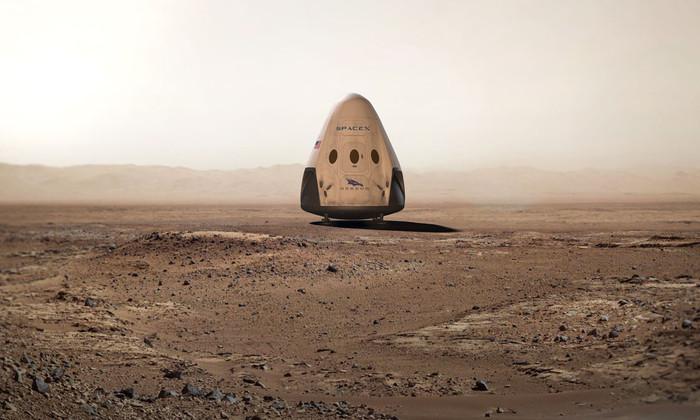 SpaceX: на Марс полетят два корабля Red Dragon