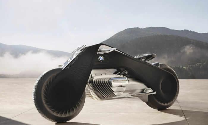 BMW представила самобалансирующийся мотоцикл будущего