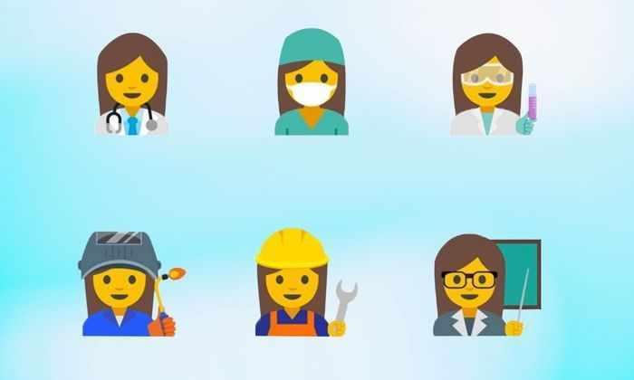 Google предлагает создать смайлики, изображающие работающих женщин