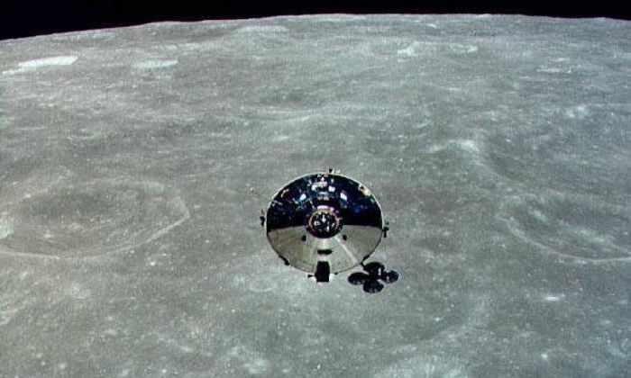 Один из модулей над Луной