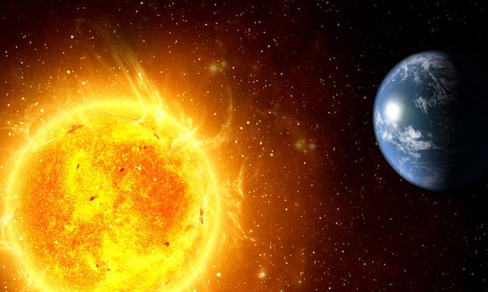 Новая теория: Земля образовалась в результате вспышки на Солнце