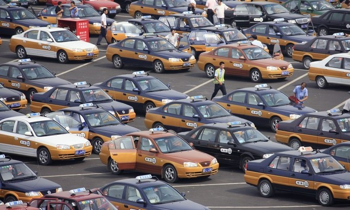 Таксопарки Китая