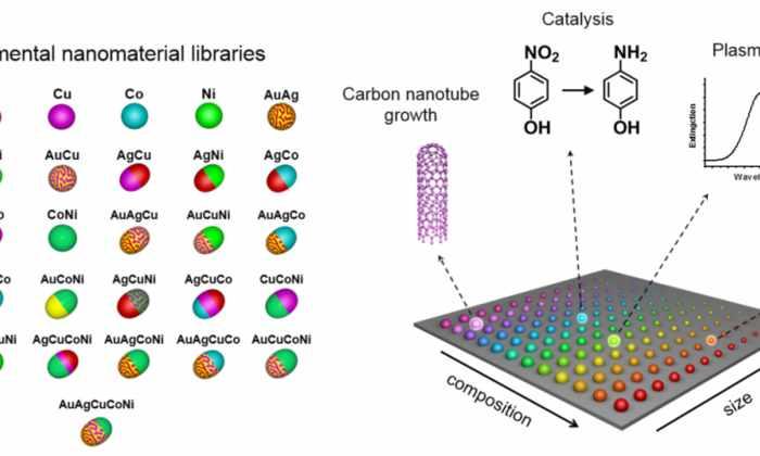 Библиотеки наночастиц сократят время исследований с нескольких десятилетий до нескольких часов
