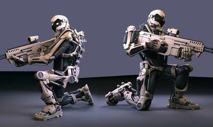 Экс-сотрудник СОБРа разработал экзоскелет для борьбы с коллекторами