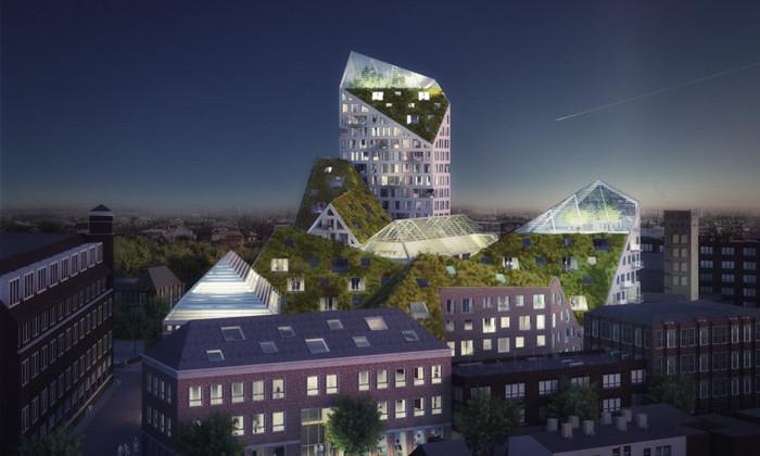 зеленый дом будущего