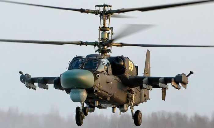 Видео с боевым применением Ка-52 впервые попало в сеть