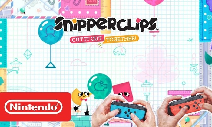 Snipperclips — Cut it out, together!