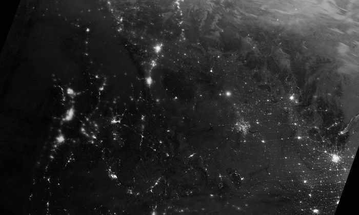 Фото дня: солнечные частицы атакуют магнитное поле Земли