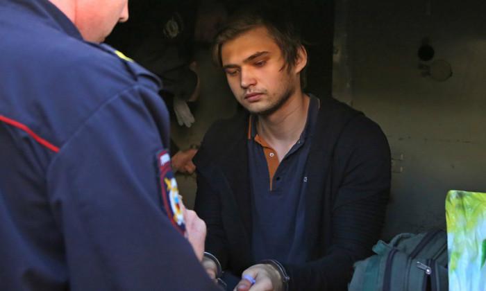 Арест Руслана Соколовского
