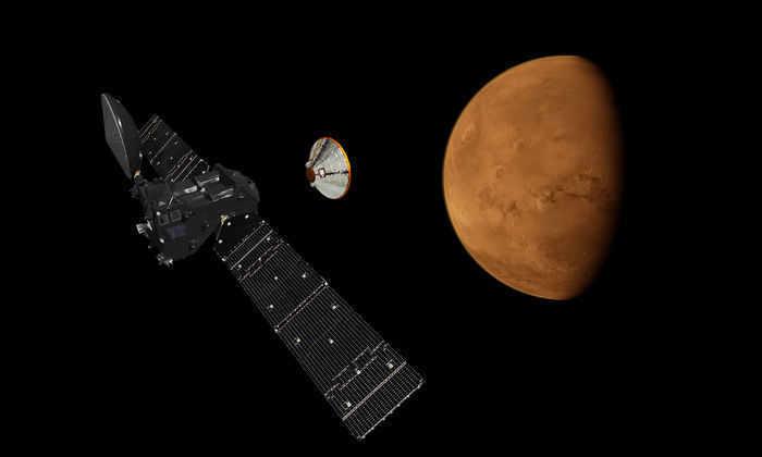 Запуск спутника к Марсу состоится в понедельник