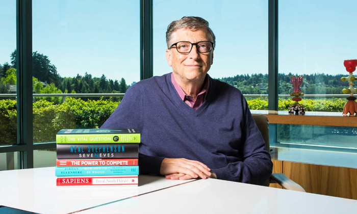 Список Билла Гейтса: пять книг, которые стоит прочитать этим летом